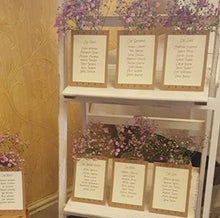 Wedding 'Table Arrangement' Cards
