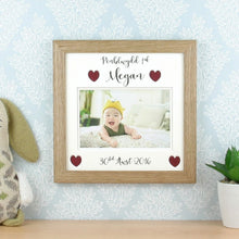 FIrst Birthday Frame (Personalised)