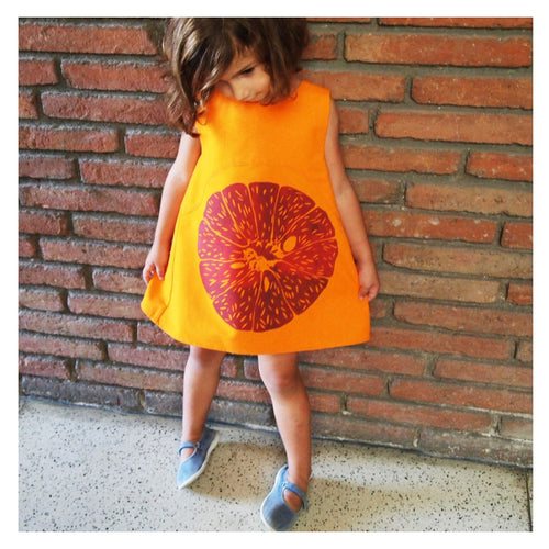 Fruit Frocks - BLOOD ORANGE