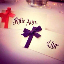 Wedding Table Place Names