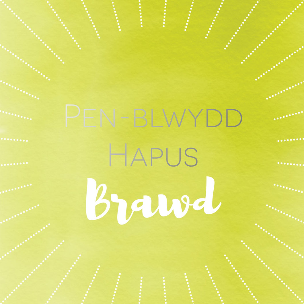 Pen-blwydd hapus Brawd (Happy birthday Brother) card