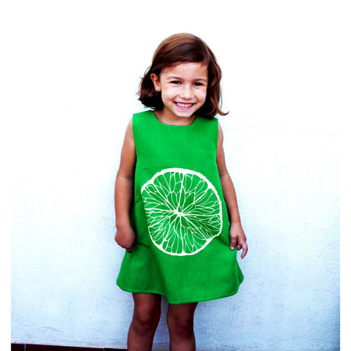 Fruit Frocks - LIME