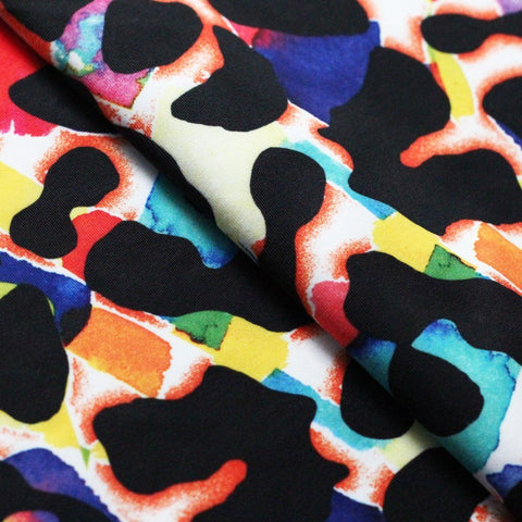 Cat Preppy 4-Way Stretch Print | Swimwear, Yoga pants, Leggings | 82% Poly, 18% Spandex Tricot - Rex Fabrics L.A.