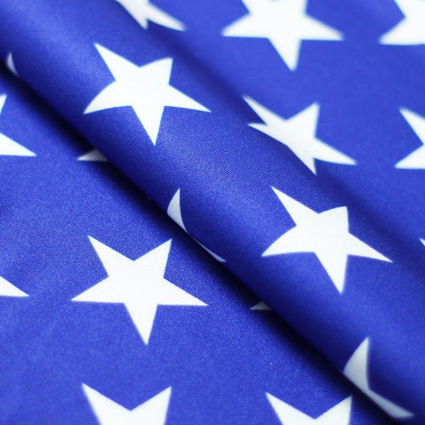 Freedom Star 4-Way Stretch Print | For Swimwear, Yoga pants, Leggings | 84% Poly, 16% Spandex - Rex Fabrics L.A.