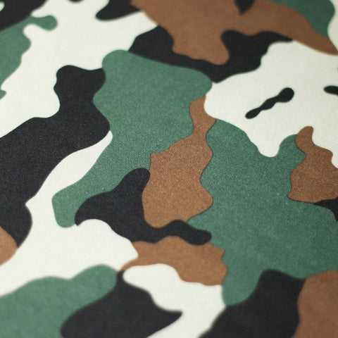 Camo Collage 4-Way Stretch Print | For Swimwear, Yoga pants, Leggings | 84% Poly, 16% Spandex - Rex Fabrics L.A.