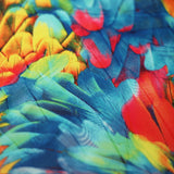 Tropical Feathers 4-Way Stretch Print | For Swimwear, Yoga pants, Leggings | 84% Poly, 16% Spandex - Rex Fabrics L.A.