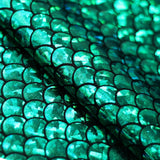 Mermaid 4-Way Stretch Hologram | Activewear, Dancewear, Costumes | 80% Nylon, 20% Spandex - Rex Fabrics L.A.