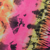 Electric Tie Dye / Durable & Heavy Weight 4-Way Stretch Nylon Spandex Brazilian Print / Swimwear, Athletic wear, Activewear, Yoga pants, Leggings - Rex Fabrics L.A.