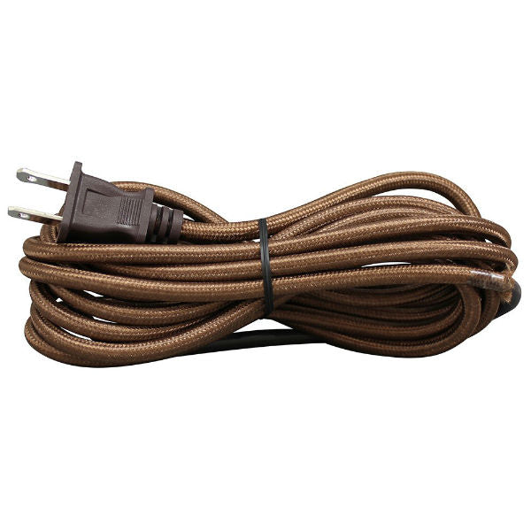 Brown Cloth Covered Cord Set SVT-2
