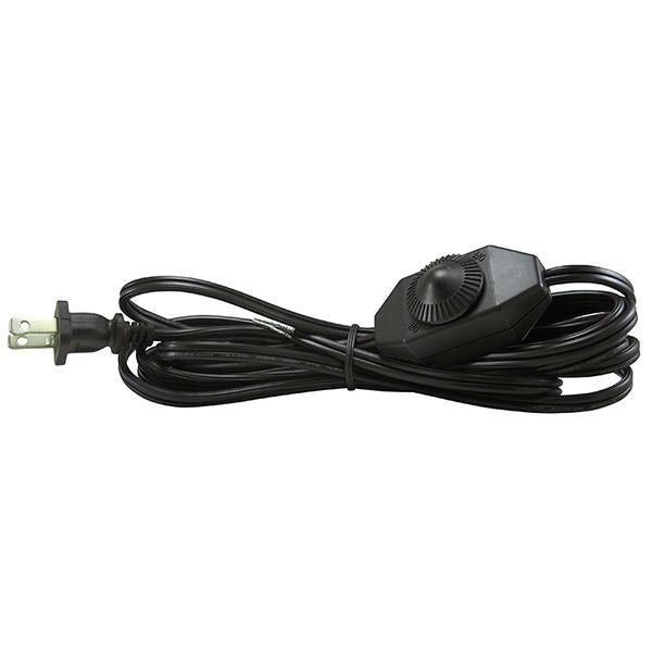 Black Parallel Cord set with Full Range dimmer switch - 11 ft.