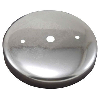 "Steel Rounded Canopy 4 - 7/8"" - Choose Finish Color"