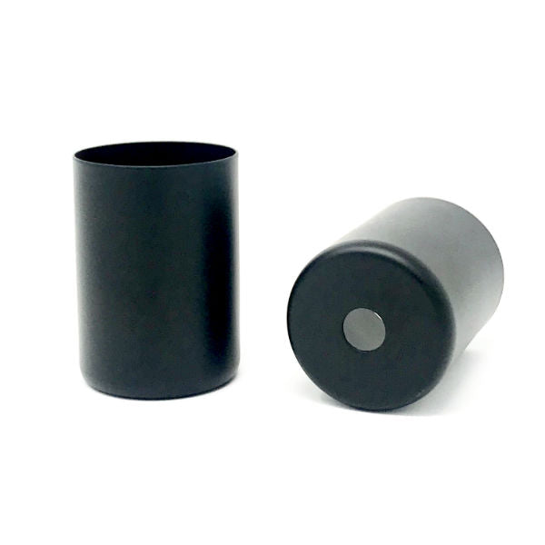 Black Medium Base Socket Cover