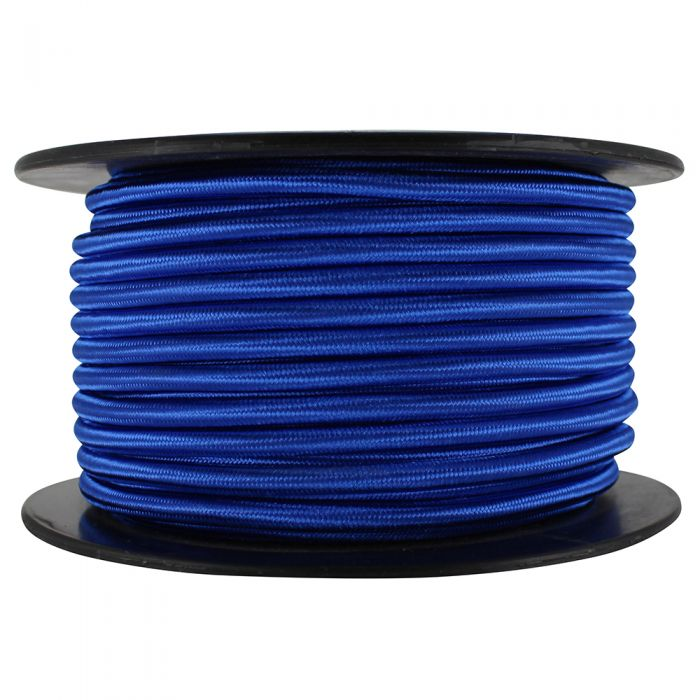 Blue SVT/2 Cloth Covered Lamp Cord