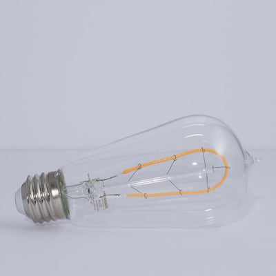 LED Vintage ST18 Hairpin Filament bulb