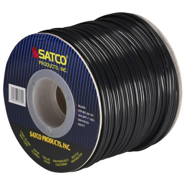Lamp Wire SPT-1 #18/2 - 250 Ft. Spool