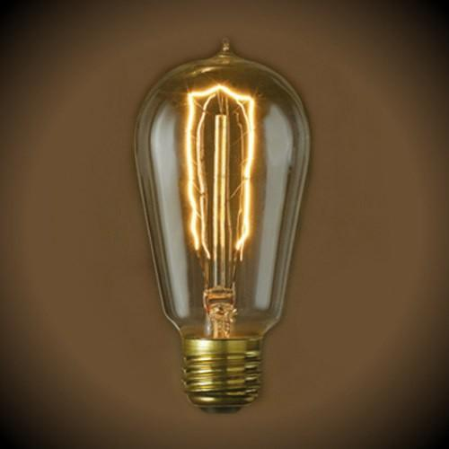 Vintage Hairpin Filament Light Bulb