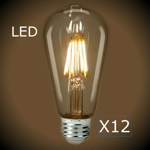 LED Filament Vintage Bulb - 4 Watt - 2700K