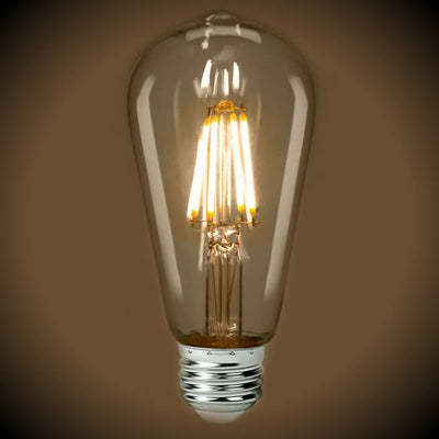 LED Filament Edison Bulb - 2700K - Clear