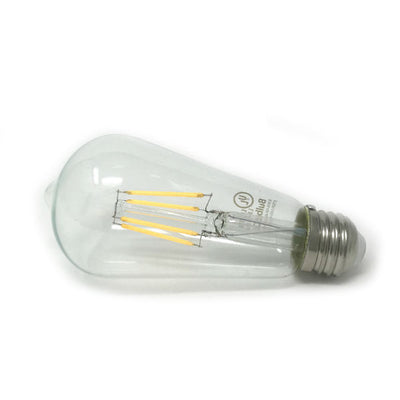 Edison Clear Glass LED Bulb - 2700K