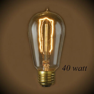 Nostalgic Edison Hairpin Light Bulb - 40 Watt