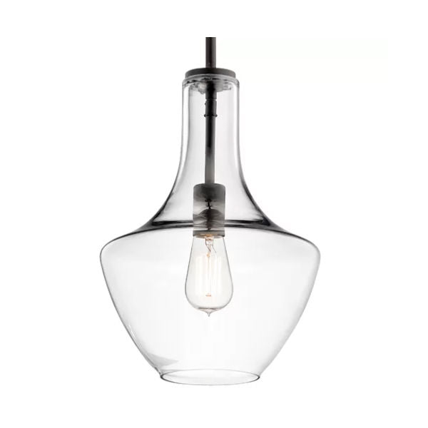 Bodega Schoolhouse One Light Glass Pendant Lamp