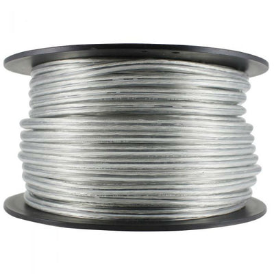 Clear SVT-2 Pendant Cord in 100 ft. Spool