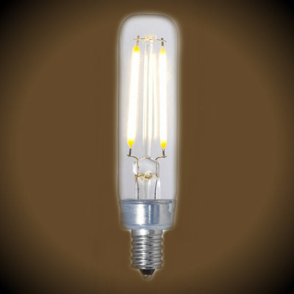 LED Filament Nostalgic Bulb - 2.5 Watt - T6 Tubular - Clear