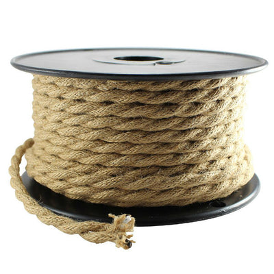 Linen Covered Lamp Cord