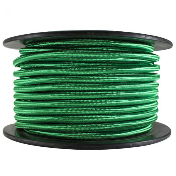 Green Cloth Covered SVT-2 Pendant Cord