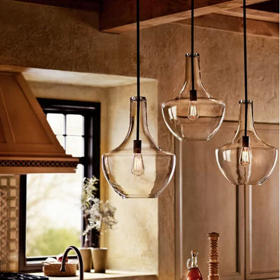 Schoolhouse Pendant in kitchen display