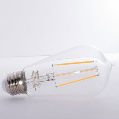 LED Vintage Filament Bulb-800 Lumens-3000K-Dimmable