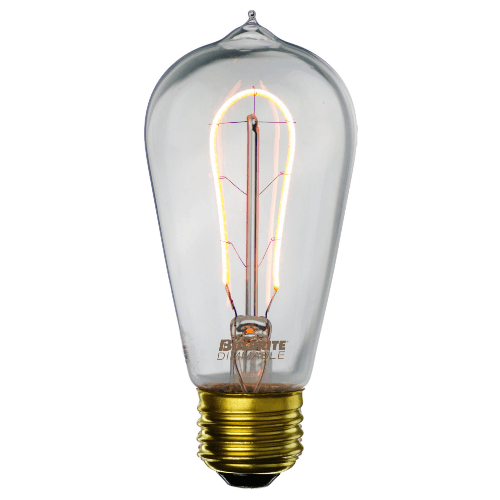 Curved LED Hairpin Filament Edison Bulb - 2 Watt - 2200K