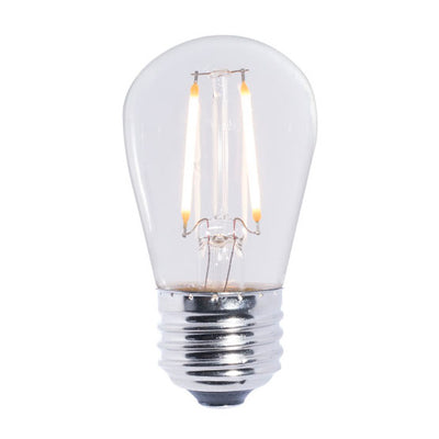 Standard LED Filament S14 Shape Bulb - 2 Watt