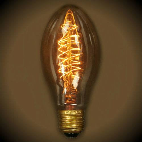 Edison Bullet Vintage Bulb - 40 Watt - 6.5 in. length - Clear