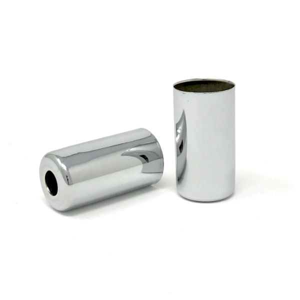 Chrome Candelabra Base Socket Cover