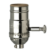 Polished Nickel 3 - Way Socket