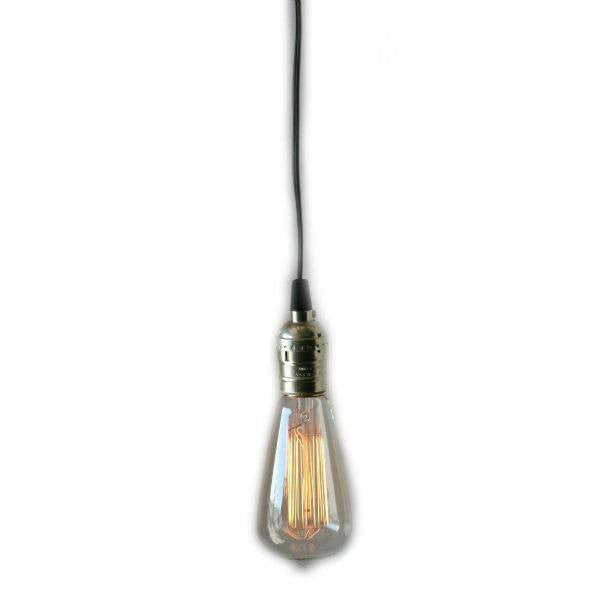 Plug In Pendant Lights Hanging Edison Bulb Lamps Nostalgicbulbs Com