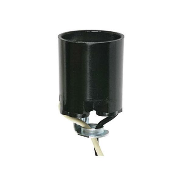 "Phenolic Socket - 1/8 IPS Hickey with 10"" Leads"