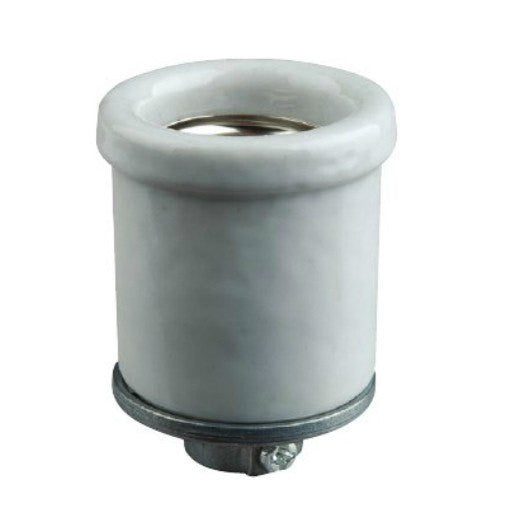Medium base Leviton Lipped Porcelain socket