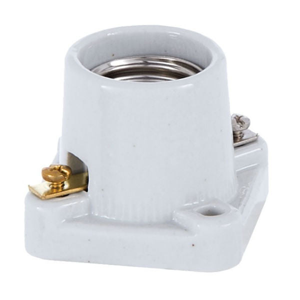 Medium Base Pony Cleat Porcelain socket