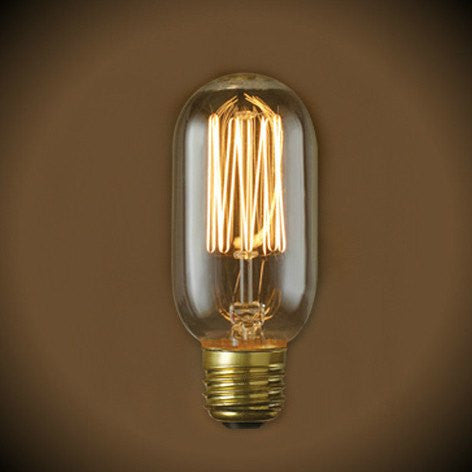 Nostalgic Radio Squirrel Cage Filament Bulb - 40 Watt - Clear