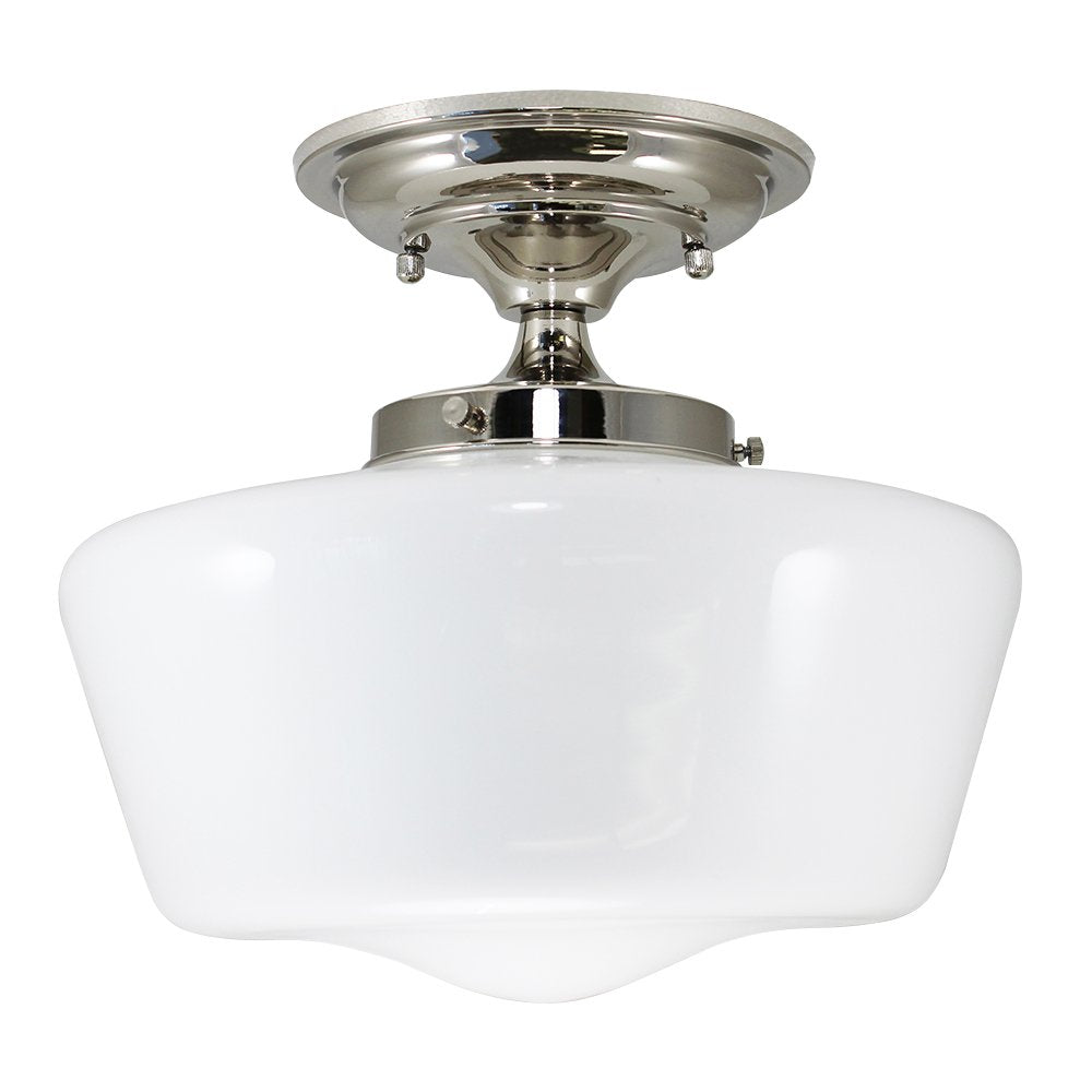 Semi Flush Schoolhouse Fixture