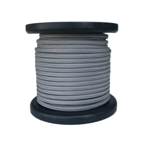 Gray Cloth Coverd Parallel Lamp Wrie 100 Ft Spool Spt