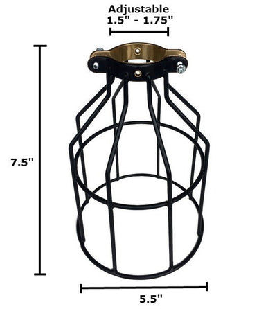 Bulb Cage Dimentions