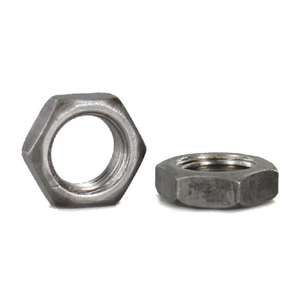 Unfinished Steel Hex Nut - Heavy Duty - 1/8 IPS - 10 Pack