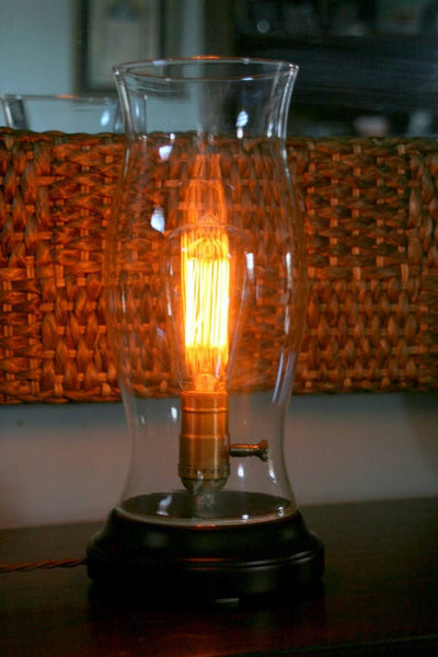 Nostalgic Glass Edison Table Lamp
