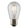 S14 LED Filament Clear Bulb 2700K