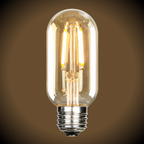 Nostalgic LED Filament Bulb -1.5 Watt - Radio Style T14