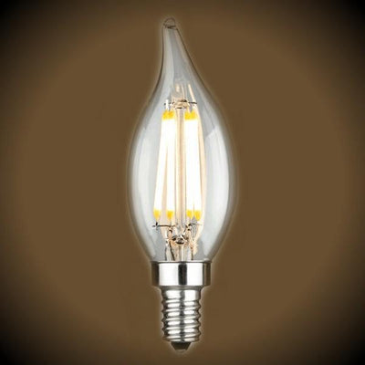 3.5 Watt LED CA10 Filament Bulb 2700K
