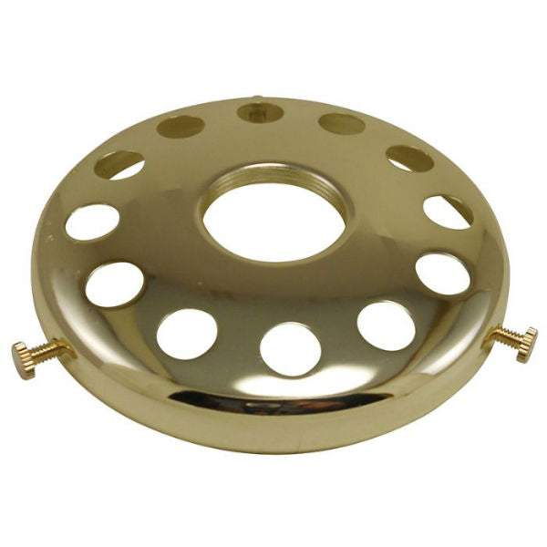 Brass Finish Lamp Shade Holder 4""